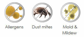 Allergens, Dust Mites, Mold and Mildew