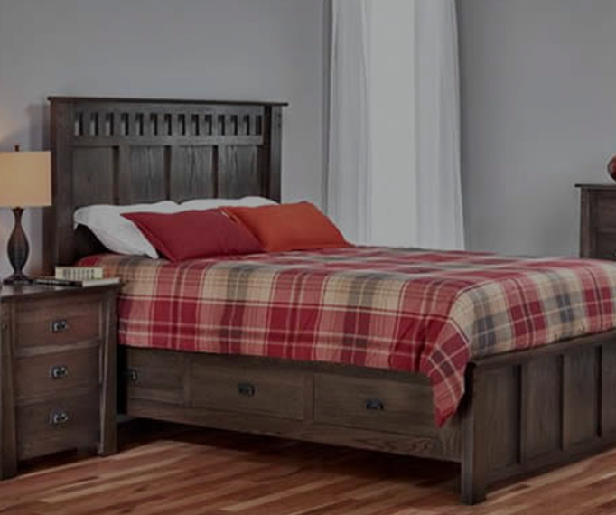 Solid Hardwood Bedroom Furniture