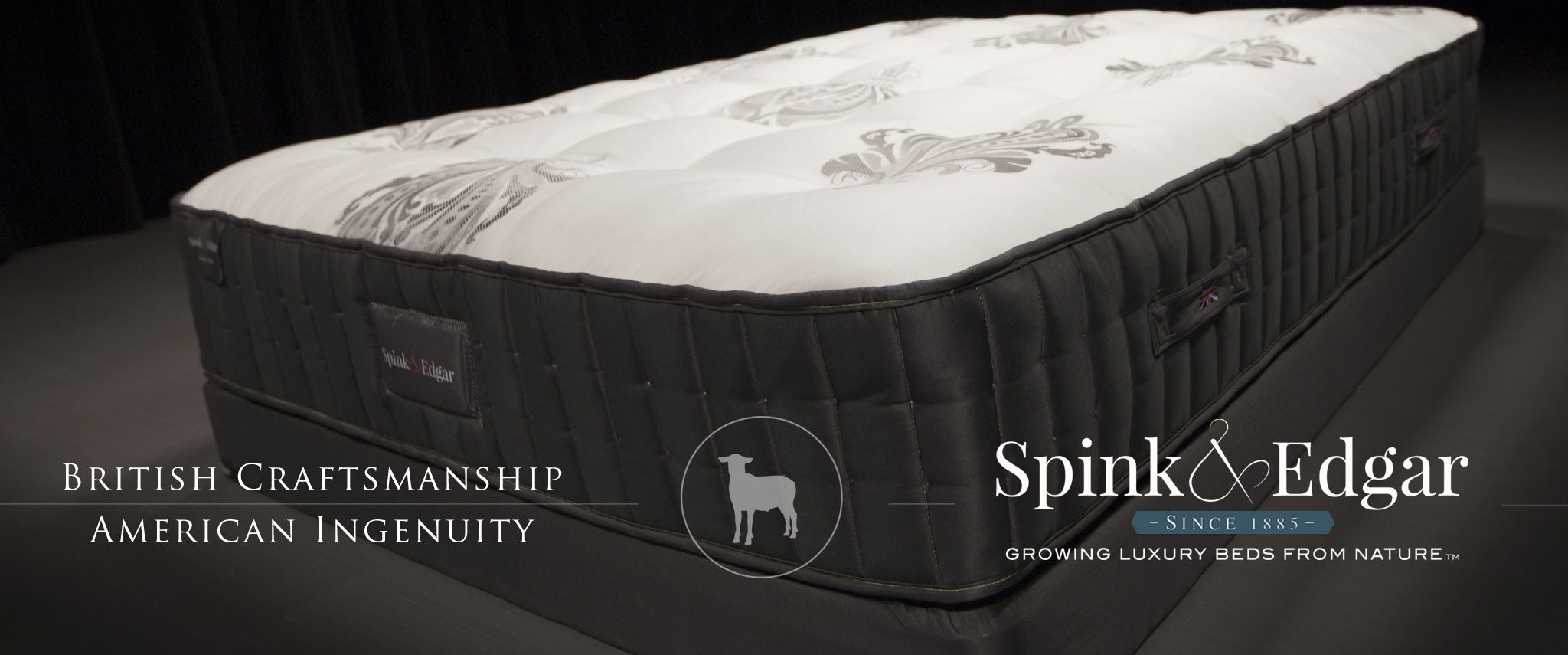 Natural, No Foam Mattresses by Spink & Edgar