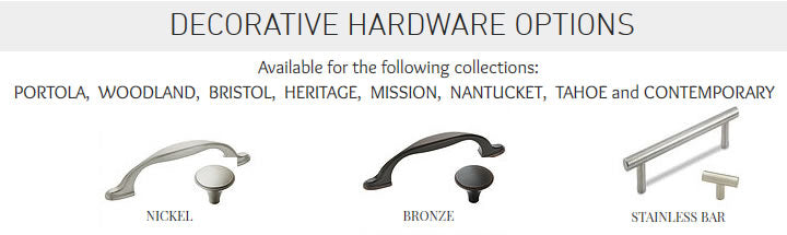 Decorative Hardware Options