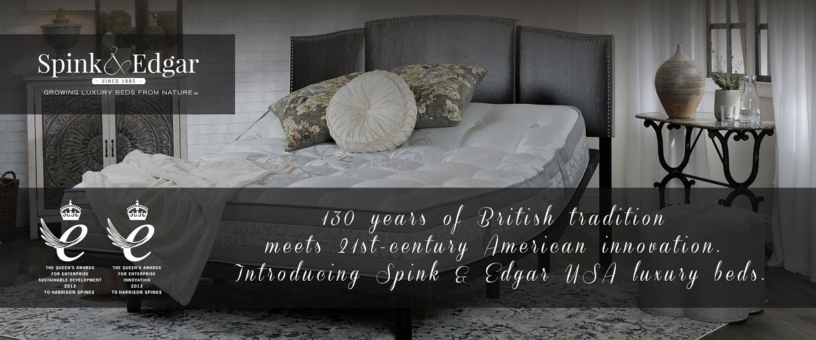 Natural No-Foam Mattresses by Spink & Edgar
