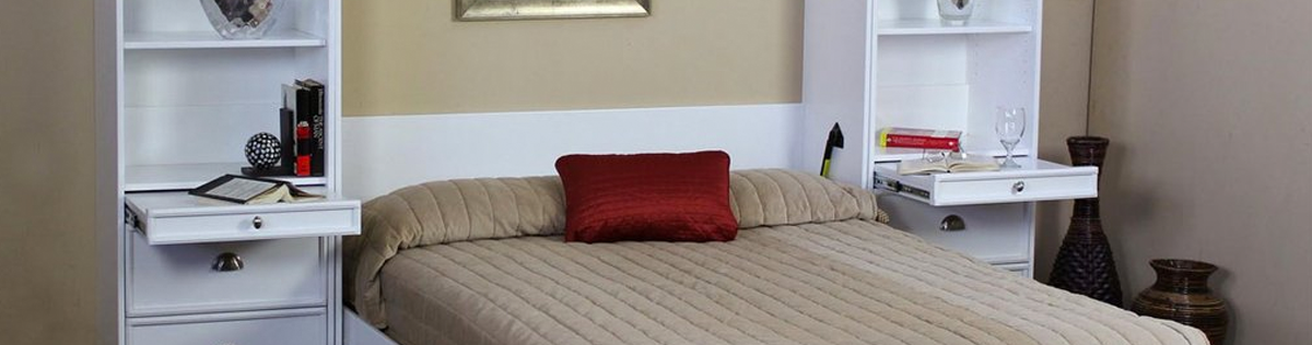 wall beds or Murphy style beds