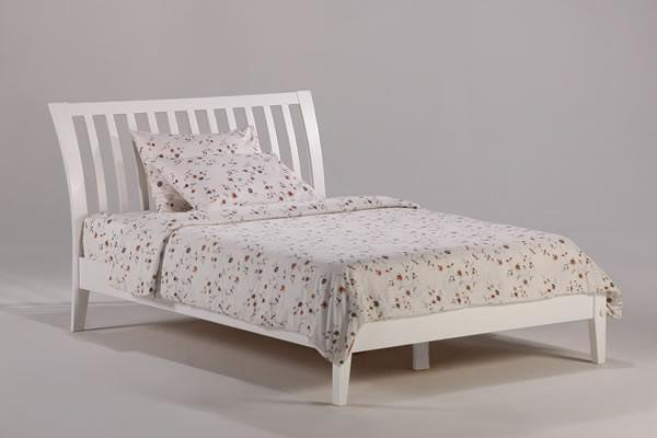 Best Sleep Centre Inc. Bedroom Twin / White Nutmeg