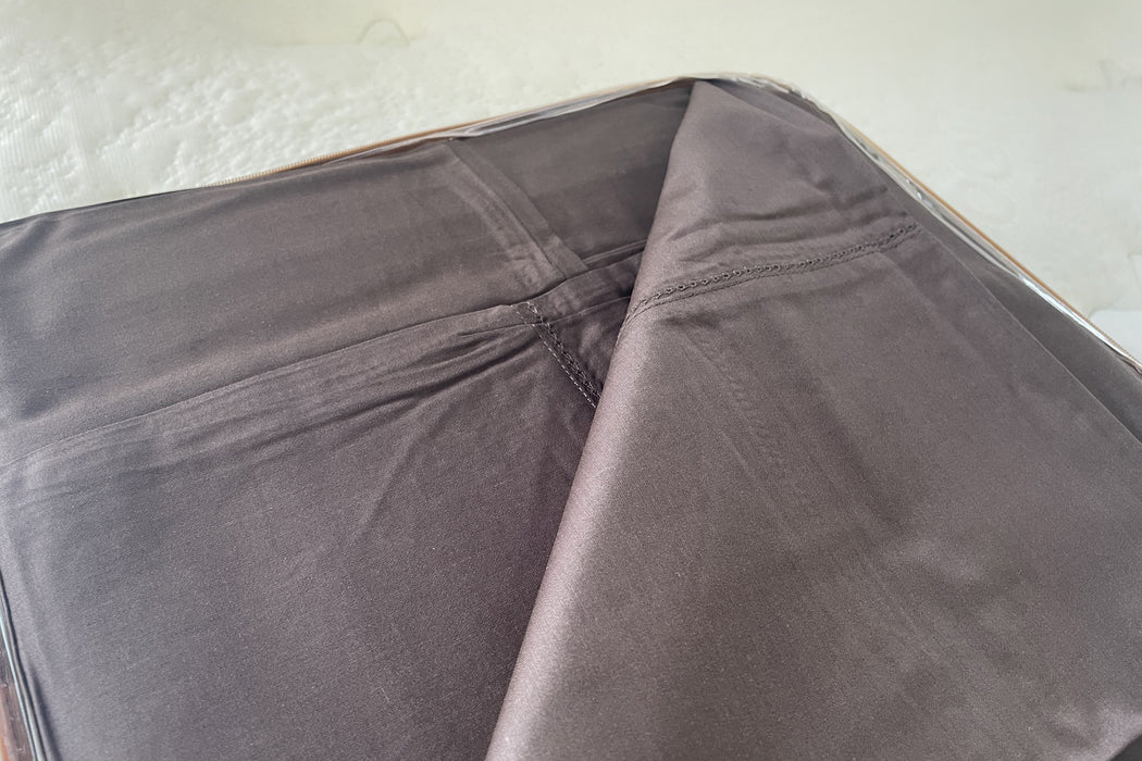 Best Sleep Centre Inc. Sheets Double / Chocolate 400 Thread Count 100% Cotton Hotel Collection Bed Sheets