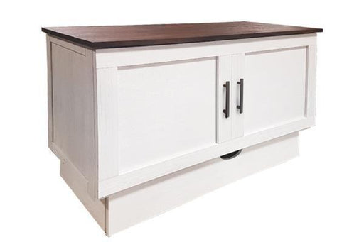 Best Sleep Centre Inc. Sleep Chests Queen / Brushed White / Brushed Acacia Cape Cod Sleep Chest