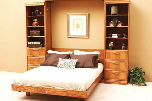 Contemporary Solid Hardwood Wall Bed