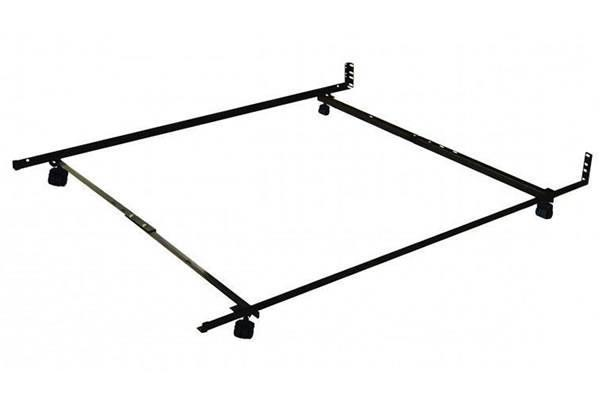 Best Sleep Centre Metal Frames Full - Queen Caster Low Profile Frame