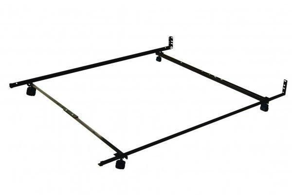 Best Sleep Centre Metal Frames Twin - Full Caster Low Profile Frame