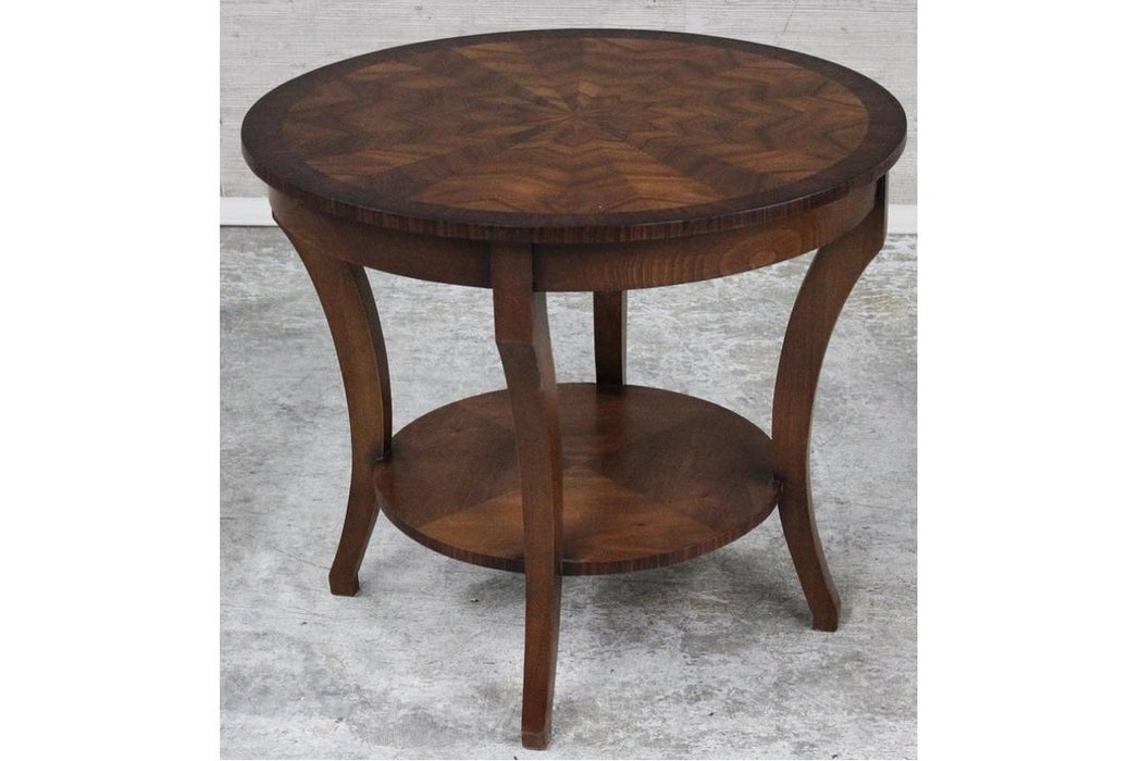 Best Sleep Centre Opportunity Buys Wayfair Returns Lot 705 - Exotic Wood Veneer Top Occasional Table