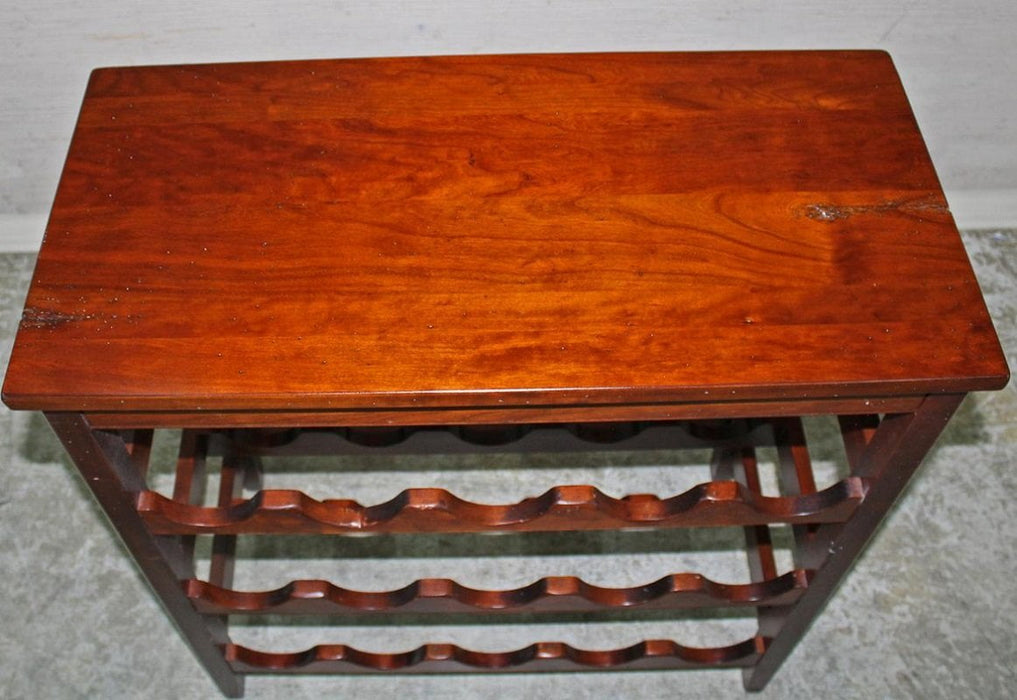 Best Sleep Centre Opportunity Buys Wayfair Returns Lot 914 - Solid Rustic Antique Hand Made Cherry Wine Table