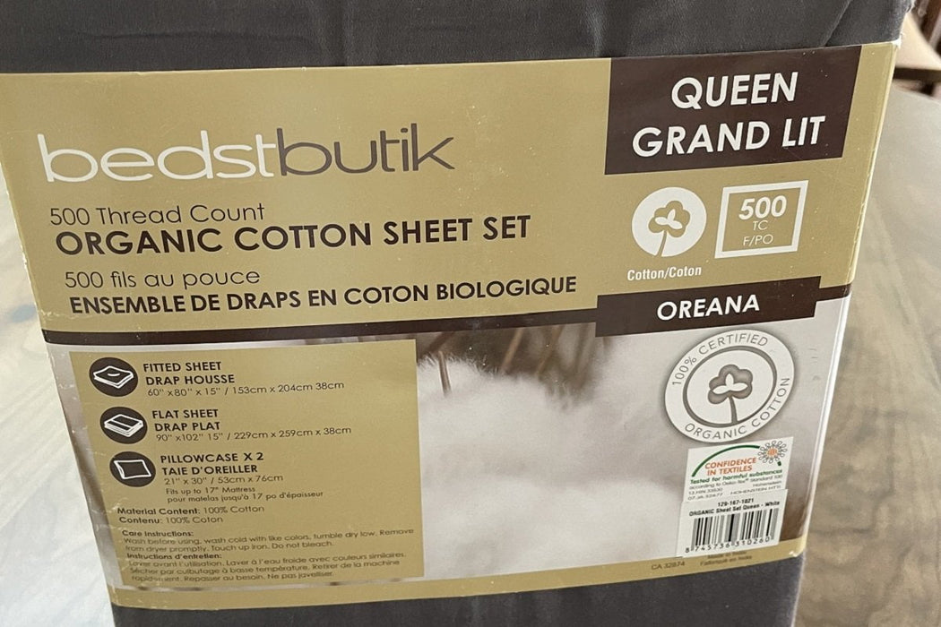 Best Sleep Centre Sheets 500 Thread Count Luxury Organic Cotton Sheet Sets