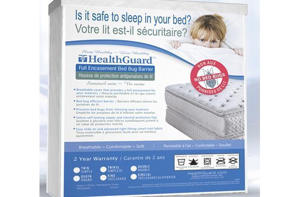 BSC Direct Sleep Accessories HealthGuard™ Full Encasement Bed Bug Barrier