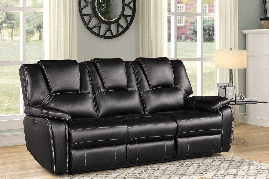 Milton Greens Stars Opportunity Buys Wayfair Returns Bella 3PC Power Recliner Air Leather Living Room Set Black