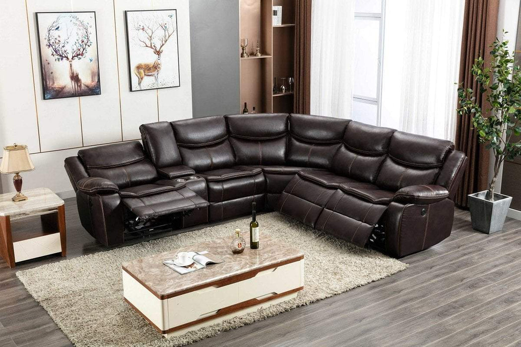Milton Greens Stars Opportunity Buys Wayfair Returns Luca Air Leather Reversible Pillow Top Sectional Sofa Brown