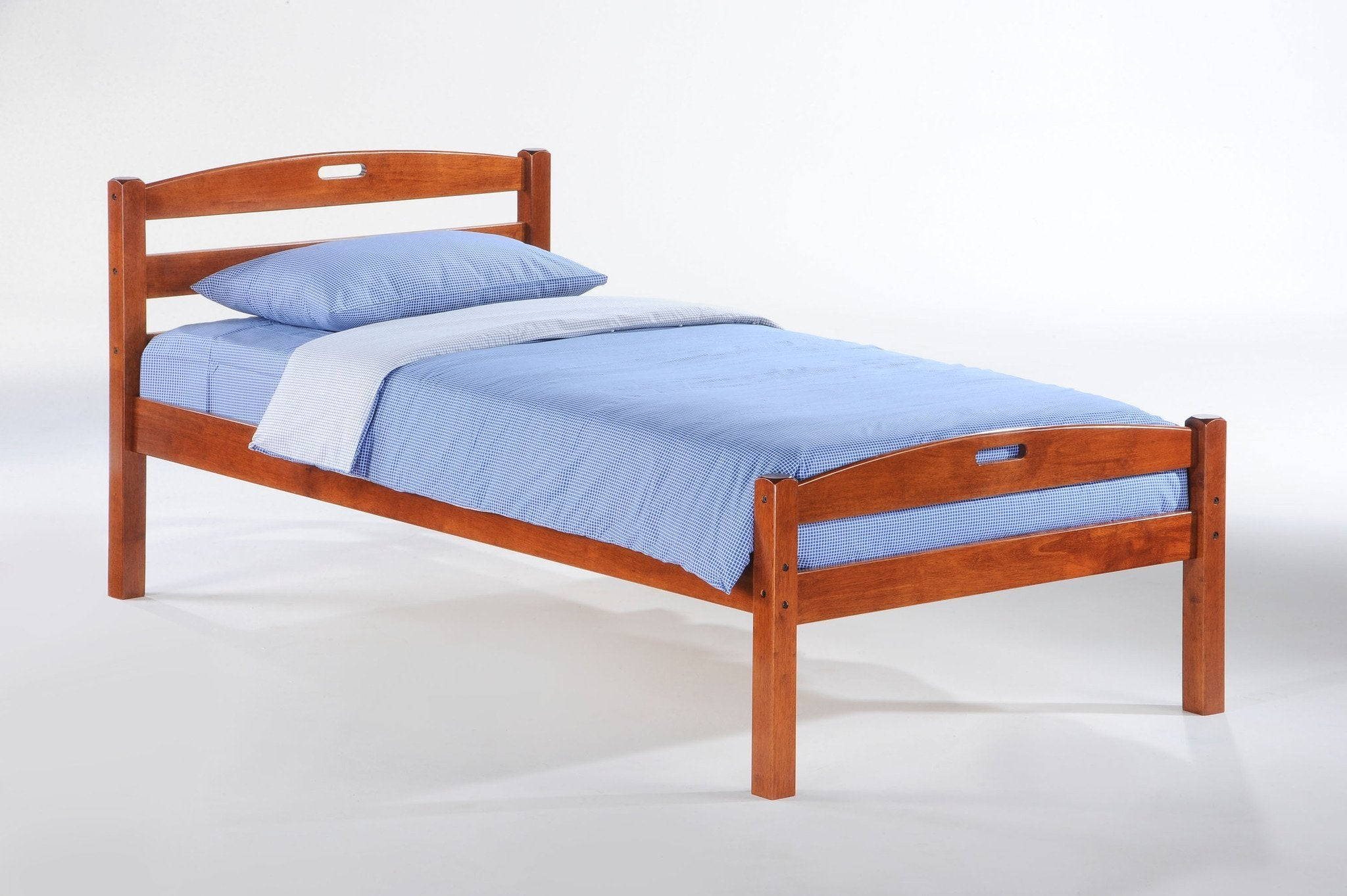 Night and Day Furniture Bedroom Twin / Cherry Sesame Bed