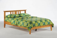 Night and Day Furniture Bedroom Twin / Medium Oak Thyme