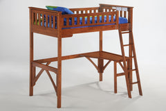 Night and Day Furniture Bunk Beds Cherry / No Ginger Full Loft Bed