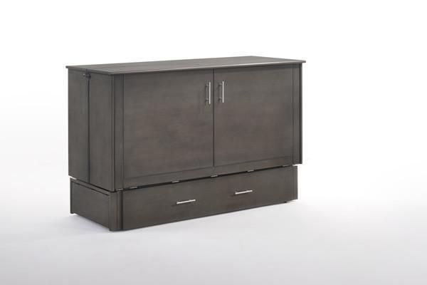Sagebrush Solid Hardwood Murphy Cabinet Bed