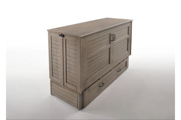 Poppy Murphy Solid Hardwood Cabinet Bed