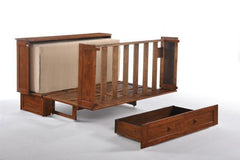Night and Day Furniture Sleep Chests Clover Murphy Bed Queen Size