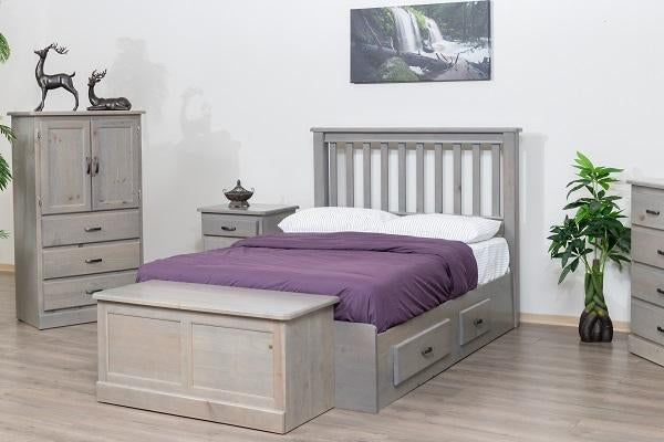 Pineridge Solid Wood Pine Bedroom Furniture Solid Wood Pine Bedroom Furniture Mate's Bed 2 RD