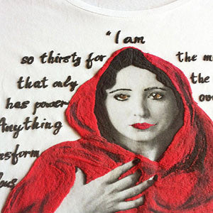 Anaïs Nin:  the power of Marvelous. Literary, artistic T shirt.