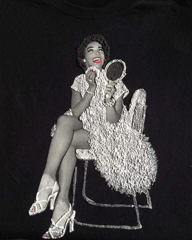 dorothy dandridge with white dress t shirt