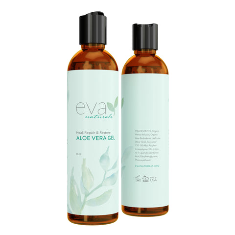 Image of Eva Naturals Aloe Vera Gel - 8 oz