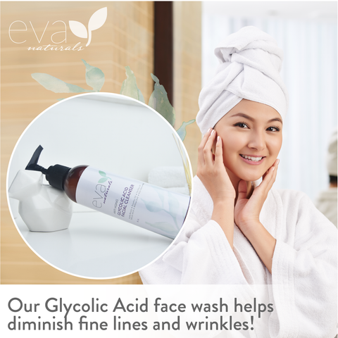 Glycolic Acid Face Wash & Cleanser - 6 oz