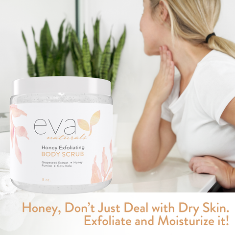Honey Exfoliating Body Scrub - 8 oz