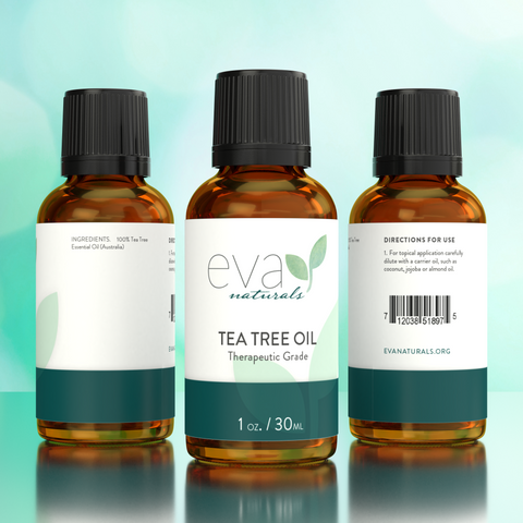 Natural Tea Tree Essential Oil - 1 oz