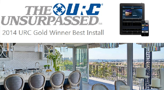 2014 Gold Winner URC House of the year