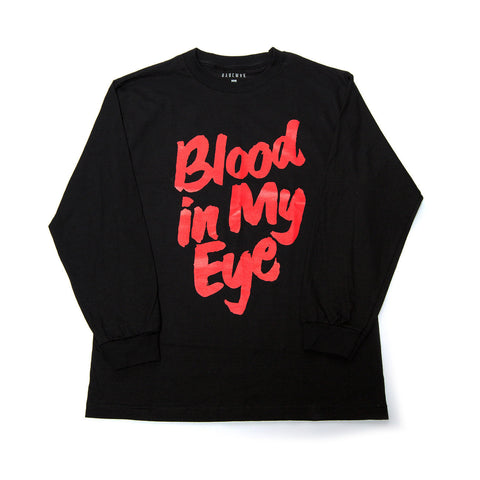 """Blood"" L/S Tee (Black)"