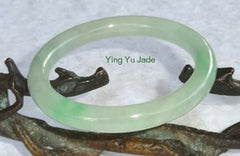 Qing Dynasty Vintage Estate Classic Round Old Mine Lao Pit Jadeite Jade Bangle Bracelet 56.5mm  (TI-1286)