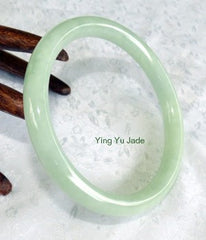 Rare Classic Round Vintage Old Mine Lao Pit Jadeite Bangle Large size 71mm (BB1061)