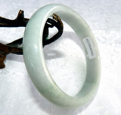 """Soothe Your Spirit"" Burmese Jadeite Bangle Bracelet 62.5mm (BB2902)"