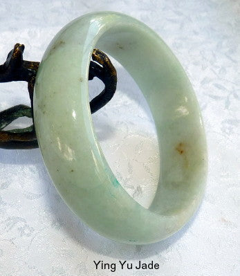 """Cuff of Jade"" Old Mine Burmese Jadeite Bangle Bracelet fits like 52mm 53mm 54mm (BB2909)"