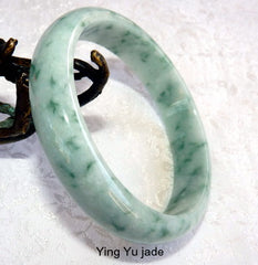 """Dragon Claws"" Burmese Jadeite Bangle Bracelet 62.5 mm (BB2933)"