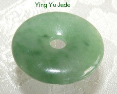 "Clearance-Heavenly ""Bi"" Burmese Jadeite Pendant (BJP786)"