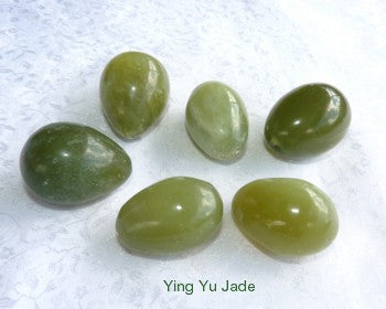 "Clearance - Large Size Jade ""Yoni"" Egg for Women, Kegel Exercise, Pelvic Health (Egg-L-CL)"