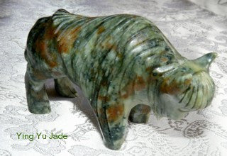 Jade Ox Carving