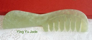 Last One! Jade Comb for Scalp Stimulation