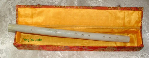 Classic Style Chinese Jade Flute - Ying Yu Jade Exclusive