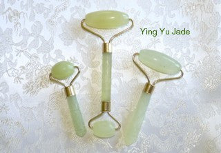 Set 3 Jade Rollers for Health and Beauty- Ying Yu Jade Exclusive