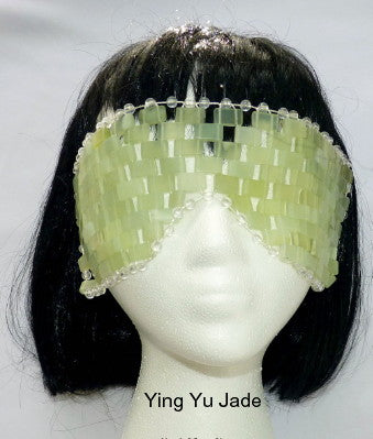 Sale-Jade Mask for Face Health-Pure and Natural Chinese Jade Stone Mask for Eyes, Spa, Facial Beauty, Health and Healing