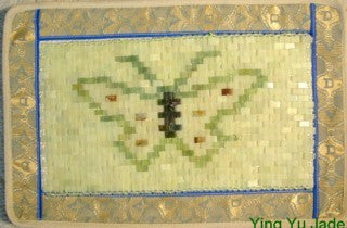 Jade Pillow Cover-Butterfly
