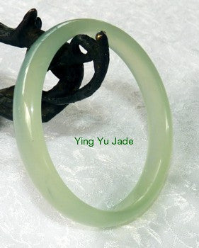 Deal of the Day - Modern Style Best Quality Chinese Jade Bangle 65mm (NJ555-65)
