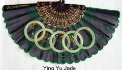 Sale-Traditional Classic Round Chinese Jade Bangle Bracelet 60 mm-Special Purchase