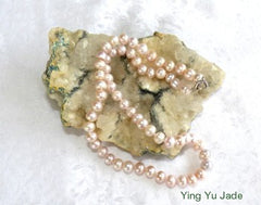 Luminous Lavender China South Seas Pearl Necklace- YYJ Exclusive