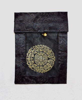 Chinese Silk Purse - Black